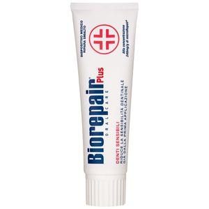 Biorepair Plus Sensitive pasta obnovující zubní sklovinu pro citlivé zuby 75 ml