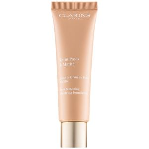 Clarins Pore Perfecting matující make-up pro minimalizaci pórů odstín 03 Nude Honey 30 ml