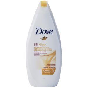 Dove Silk Glow vyživující sprchový gel pro jemnou a hladkou pokožku 500 ml