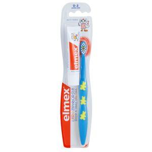 Elmex Caries Protection zubní kartáček pro děti soft + mini pasta 12 ml