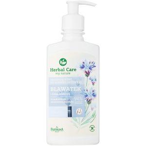 Farmona Herbal Care Cornflower zklidňující gel pro intimní hygienu pro citlivou a podrážděnou pokožku 330 ml