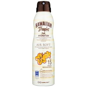 Hawaiian Tropic Silk Hydration Air Soft sprej na opalování SPF 15 177 ml