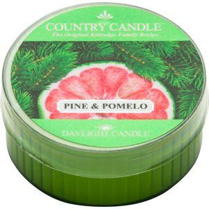 Country Candle Pine & Pomelo čajová svíčka 42 g