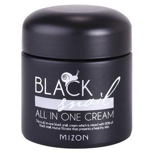 Mizon Black Snail All in One pleťový krém s filtrátem hlemýždího sekretu 90% 75 ml