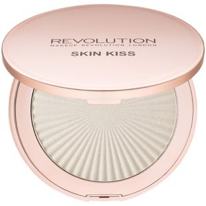 Makeup Revolution Skin Kiss rozjasňovač odstín Ice Kiss 14 g
