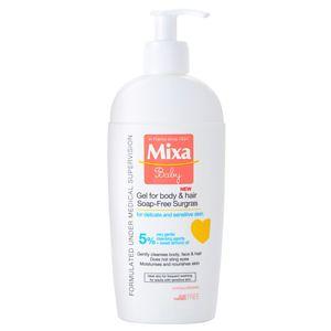 MIXA Baby sprchový gel a šampon 2 v 1 pro děti 250 ml