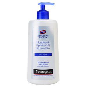 Neutrogena Norwegian Formula® Deep Moisture hloubkově hydratační tělové mléko pro suchou pokožku 400 ml