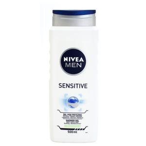 Nivea Men Sensitive sprchový gel na tvář, tělo a vlasy 500 ml