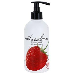 Naturalium Fruit Pleasure Raspberry vyživující tělové mléko 370 ml