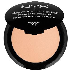 NYX Professional Makeup Stay Matte But Not Flat pudrový make-up s matným efektem odstín 13 Cinnamon Spice 7,5 g
