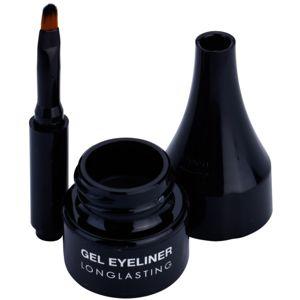 Pierre René Eyes Eyeliner gelové oční linky voděodolné odstín 01 Carbon Black 2,5 ml