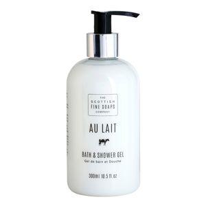 Scottish Fine Soaps Au Lait sprchový a koupelový gel 300 ml
