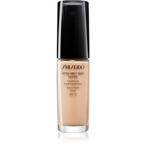 Shiseido Synchro Skin Glow Luminizing Fluid Foundation rozjasňující make-up SPF 20 odstín Neutral 2 30 ml