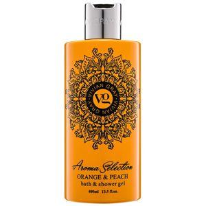 Vivian Gray Aroma Selection Orange & Peach sprchový a koupelový gel 400 ml