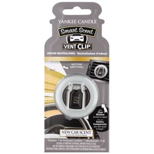 Yankee Candle New Car Scent vůně do auta clip 4 ml